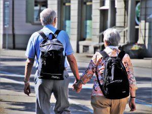 Senioren auf Reise